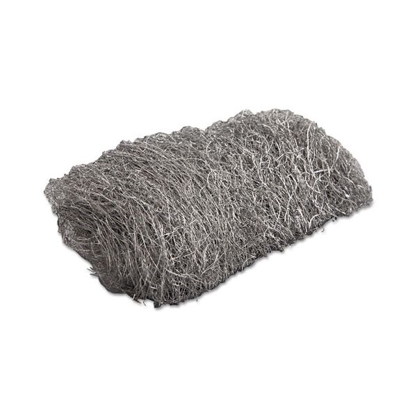 GMT Industrial-Quality Steel Wool Reel, #2 Medium Coarse, 5lb Reel, 6/Carton