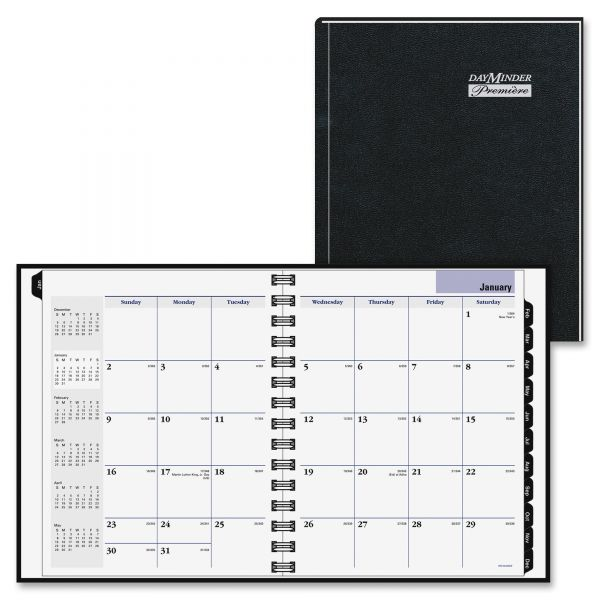 At-A-Glance DayMinder Premiere Recycled Monthly Planner