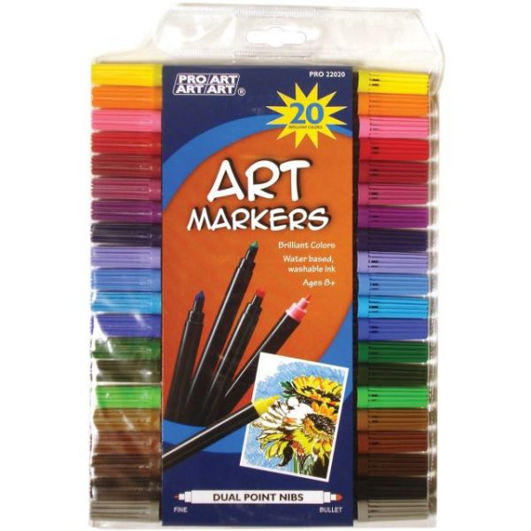 Pro Art Dual Point Art Markers