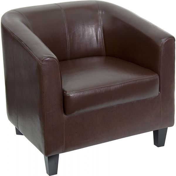 Flash Furniture Brown Reception Chair