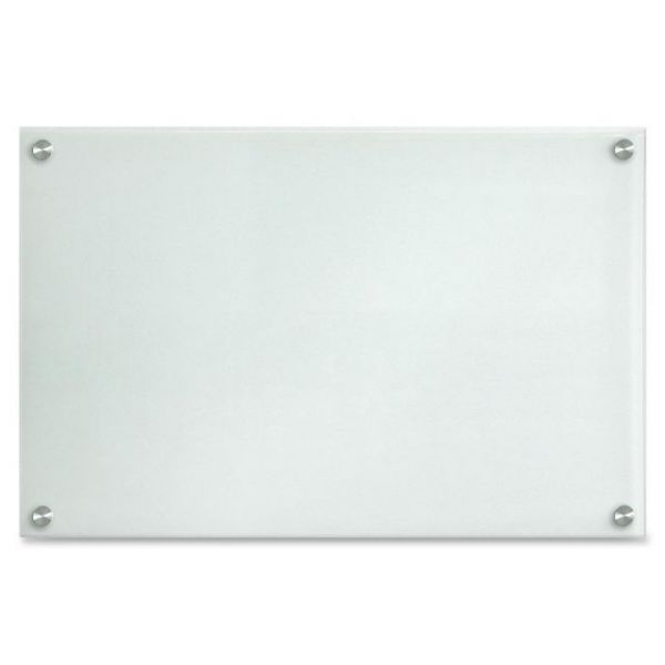 Lorell Glass Dry Erase Board