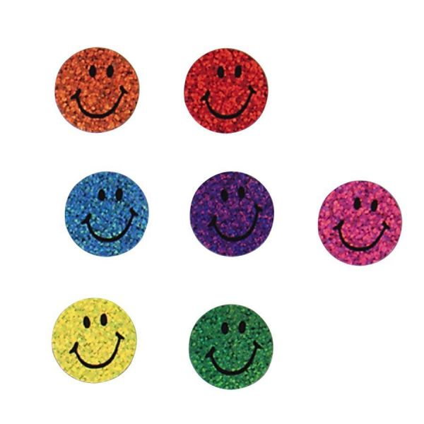 Trend Colorful Sparkle Smiles Superspots Stickers