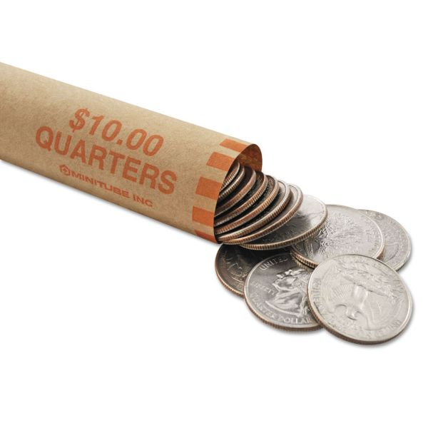 MMF Industries Preformed Nested Quarter Coin Wrappers