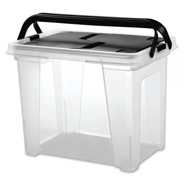 I.R.I.S. Portable Wing Lid File Box