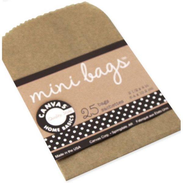 "Mini Gift Bags 2.5""X4"" 25/Pkg"