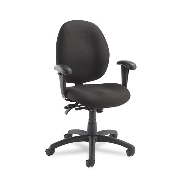 Global Malaga Series Low-Back Multi-Tilter Swivel Chair