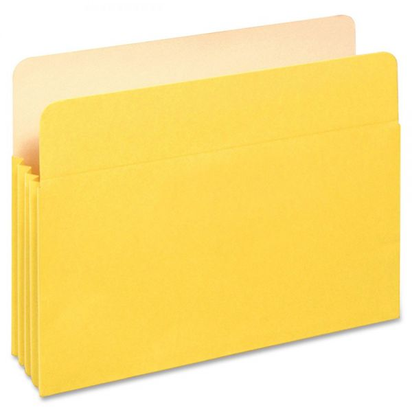 "Pendaflex 3-1/2"" Expansion Colored File Pockets"
