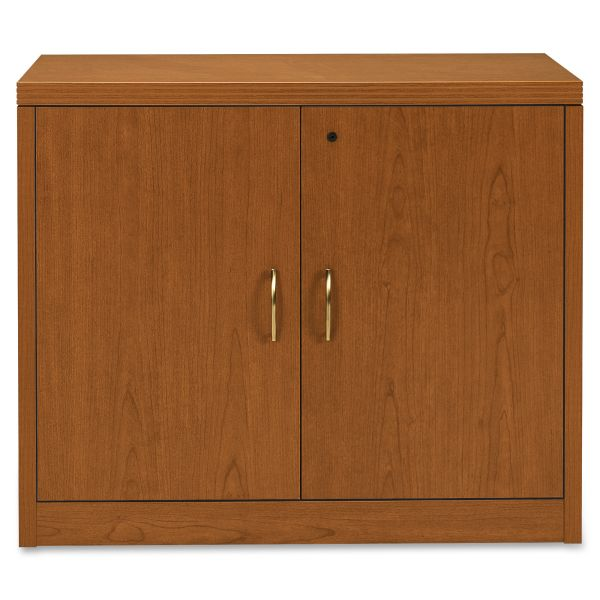HON Valido Series Bourbon Cherry Laminate Storage Cabinet