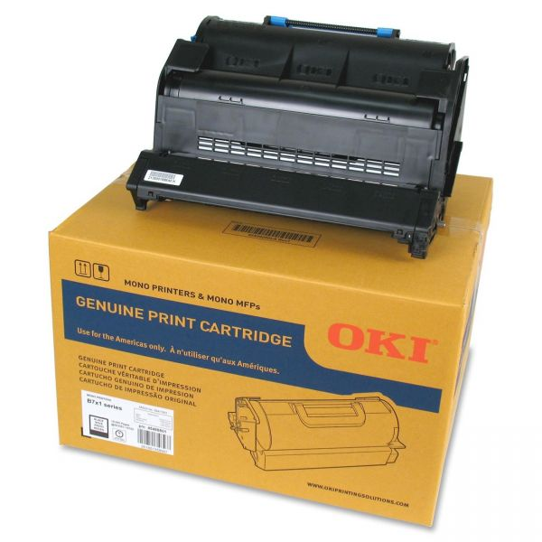 Oki 45488801 Black Toner Cartridge