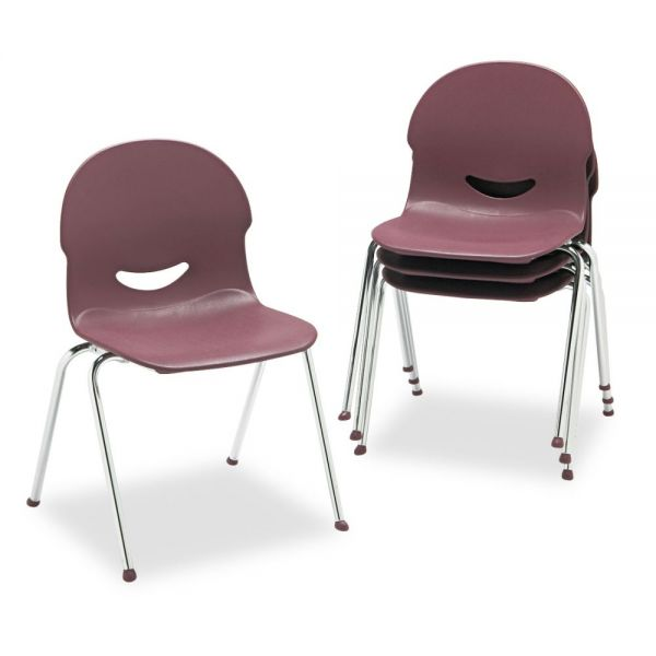 Virco IQ Plastic Stacking Chairs