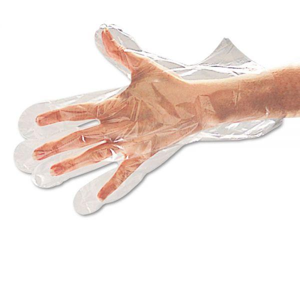 Boardwalk Polyethylene Disposable Food Handling Gloves, Small