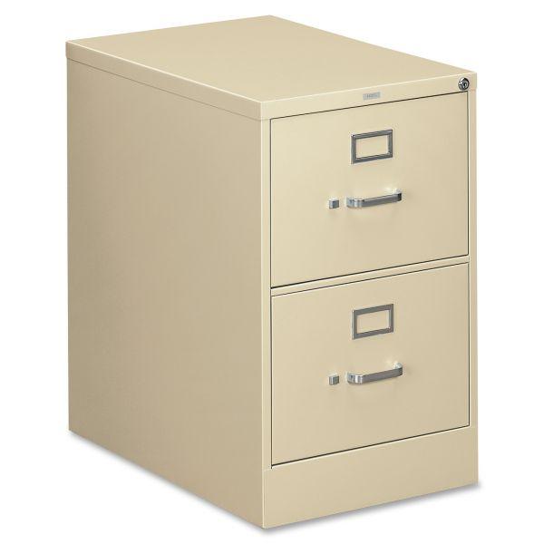 HON 310 Series 2 Drawer Locking Vertical File Cabinet