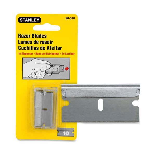 Stanley Tools Single Edge Razor Blade