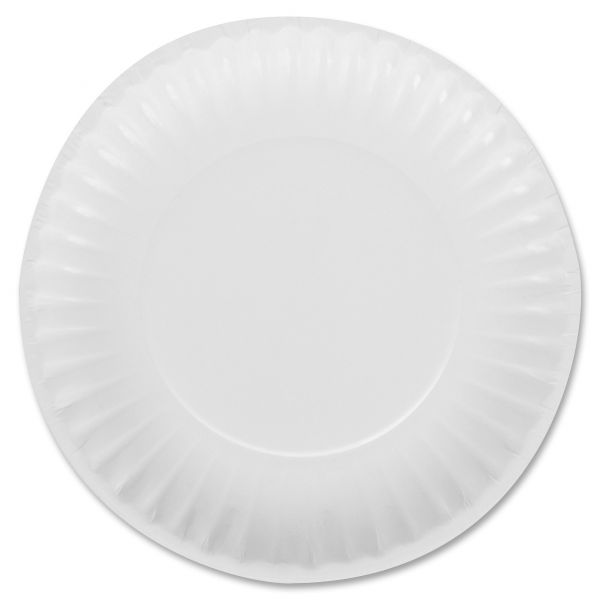 "Mardi Gras 6"" Clay Coated Paper Plates"