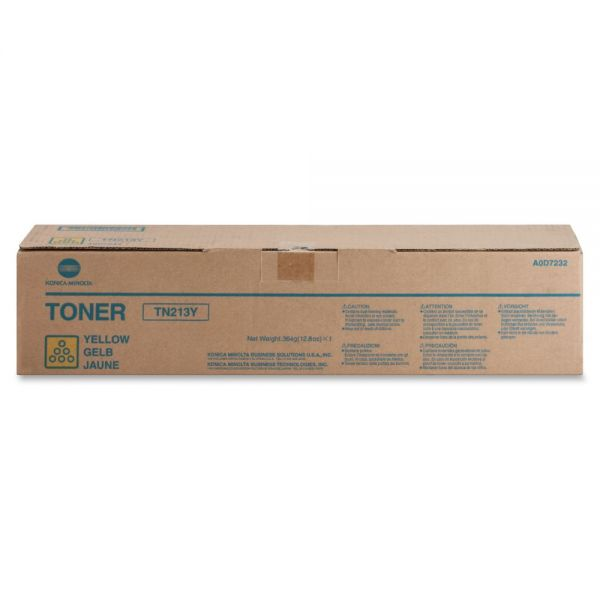 Konica Minolta TN-213Y Original Toner Cartridge - Yellow