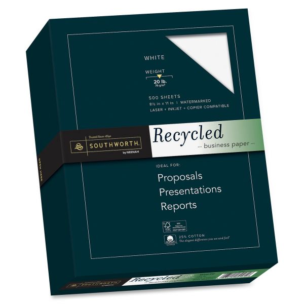 Southworth Fine Recycled Copy Paper