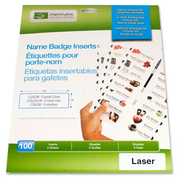 The Mighty Badge Name Badge Insert Sheets