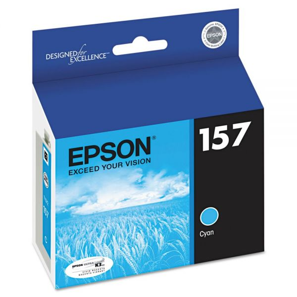 Epson 157 Cyan Ink Cartridge (T157220)