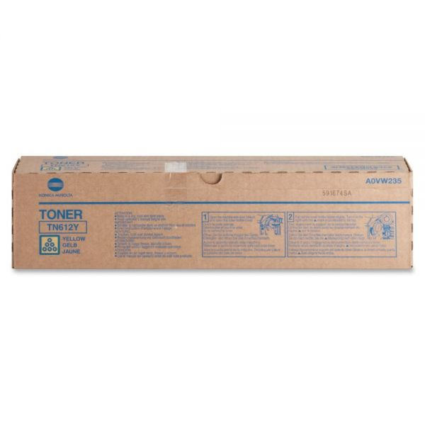 Konica Minolta TN-612Y Original Toner Cartridge