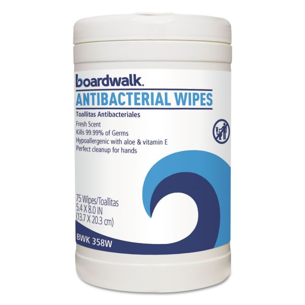 Boardwalk Antibacterial Wipes