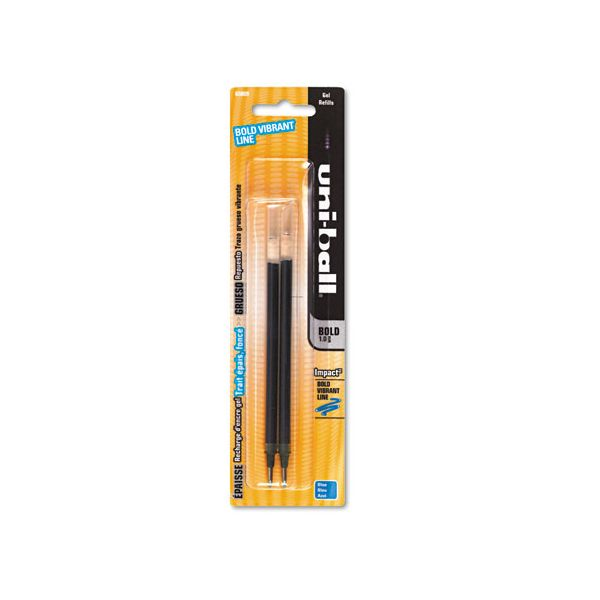 Uni-Ball Gel Impact Rollerball Pen Refills