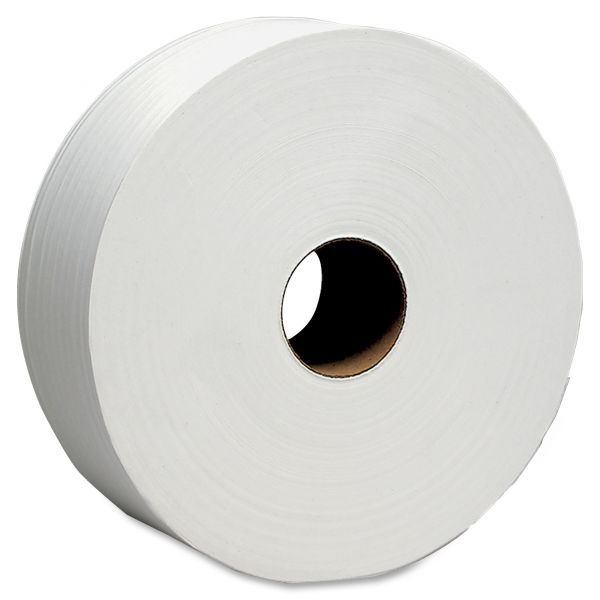 SCOTT 100% Recycled Fiber Jumbo Toilet Paper Rolls