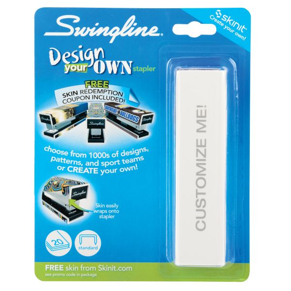Swingline Design Your Own Skins Fashion Stapler
