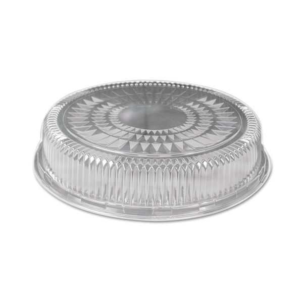 Handi-Foil of America Plastic Dome Lid, Round, Embossed, 18 in, Fits 4018/4019, 25/Carton