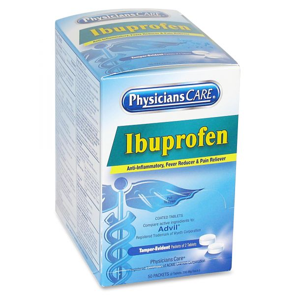 PhysiciansCare Ibuprofen Pain Reliever Tablets