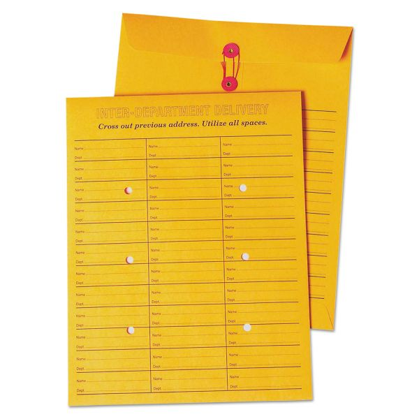 Quality Park Double Sided Inter-Depart. Envelopes