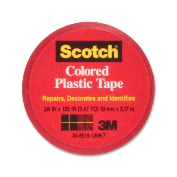 Scotch Colored Vinyl Plastic Tape
