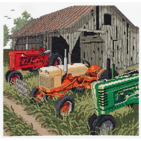 Auction Day Counted Cross Stitch Kit