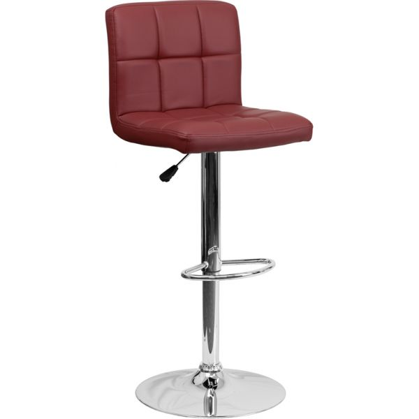 Flash Furniture Contemporary Quilted Barstool