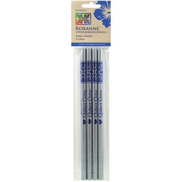 Water-Soluble Chalk Marking Pencils 4/Pkg