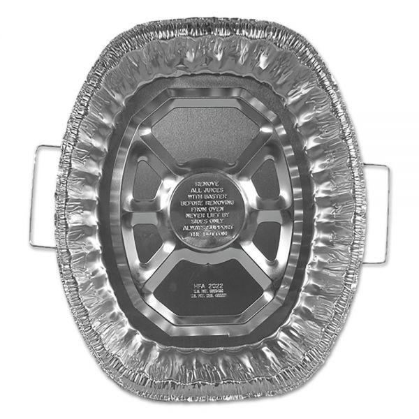 Handi-Foil of America Oval Aluminum Roaster