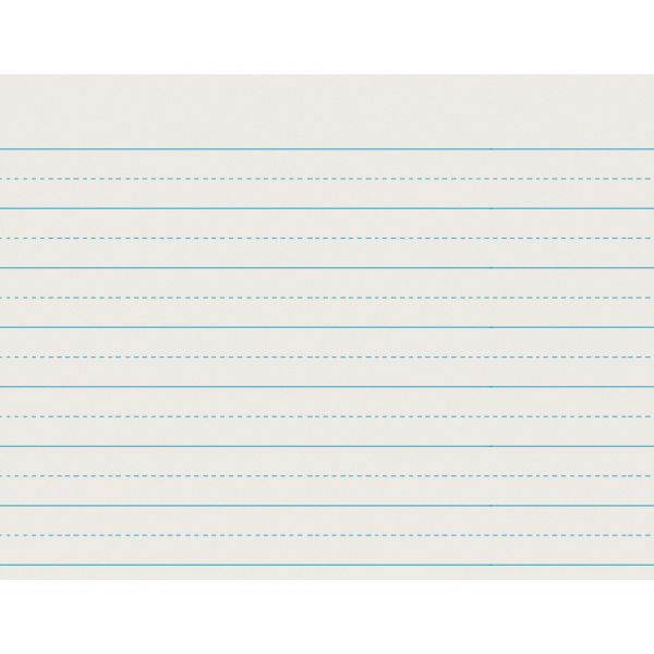 Pacon Alternative Dotted Ruled Newsprint Writing Paper