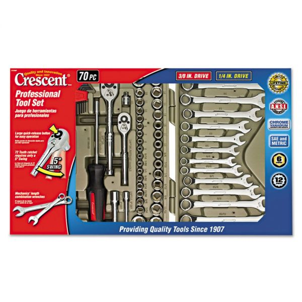 Crescent 70-Piece Professional Tool Set