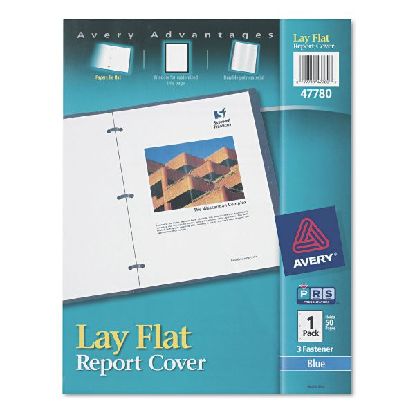 Avery Lay Flat Report Covers