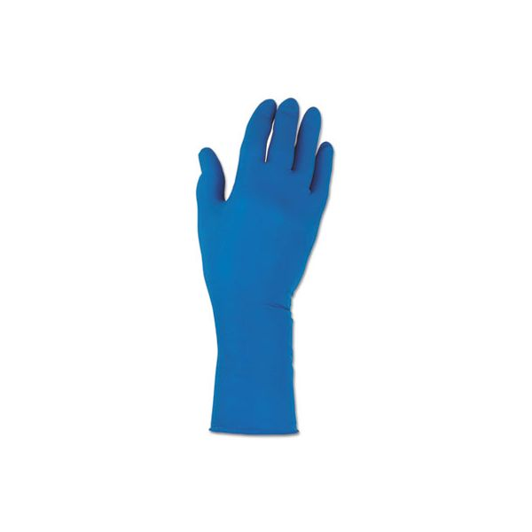 Jackson Safety* G29 Solvent Resistant Gloves, 295 mm Length, Large/Size 9, Blue, 500/Carton
