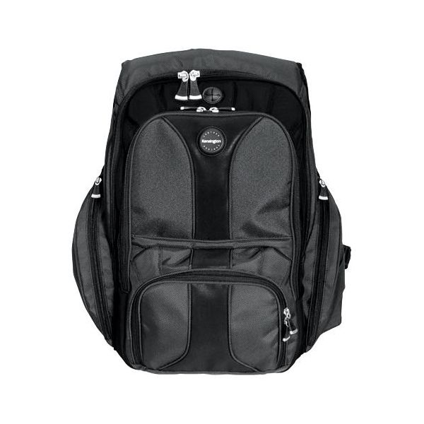 "Kensington Contour Carrying Case (Backpack) for 17"" Notebook - Black"