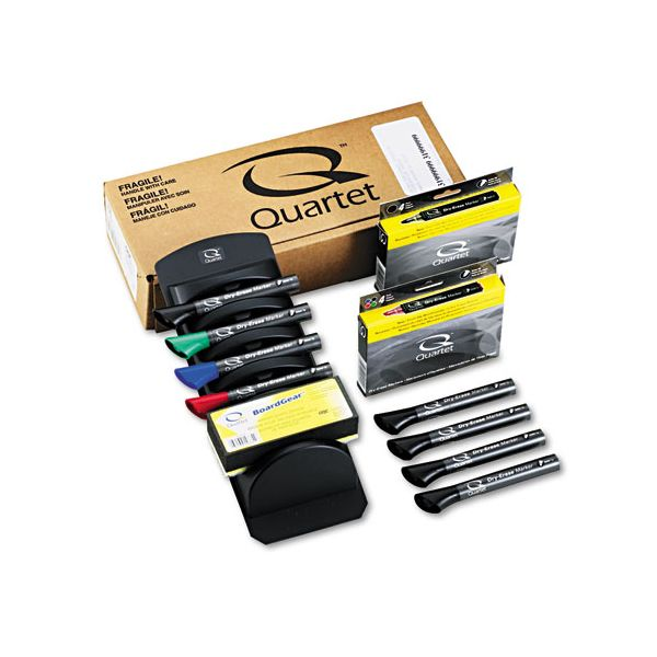 Quartet Dry Erase Marker Board Caddy Kit
