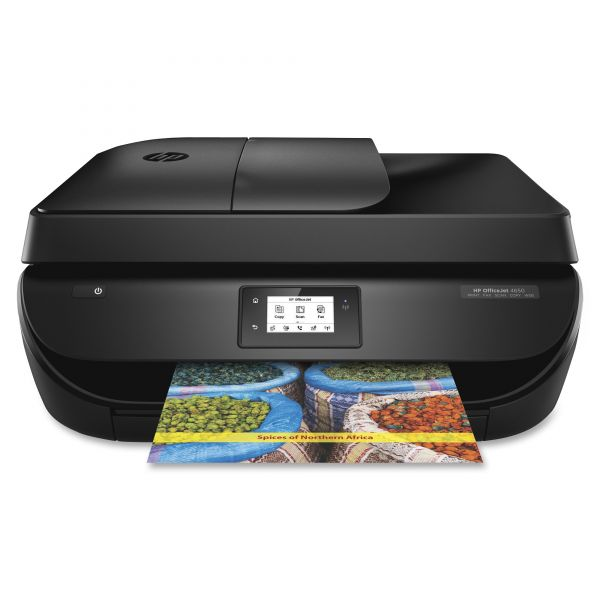 HP Officejet 4650 Wireless All-in-One Printer, Copy/Fax/Print/Scan