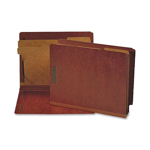 Nature Saver End Tab Red Classification Folders