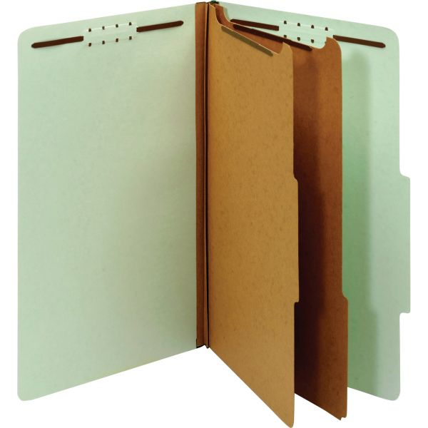 Globe-Weis 100% Recycled Classification Folders