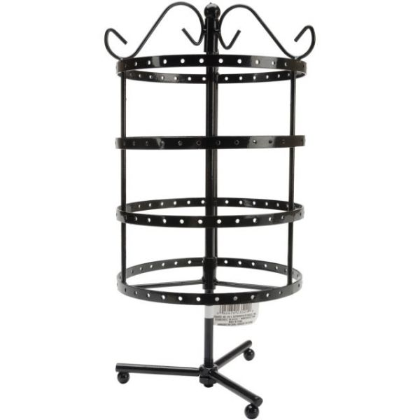Darice 4-Tier Spinner Earring Rack