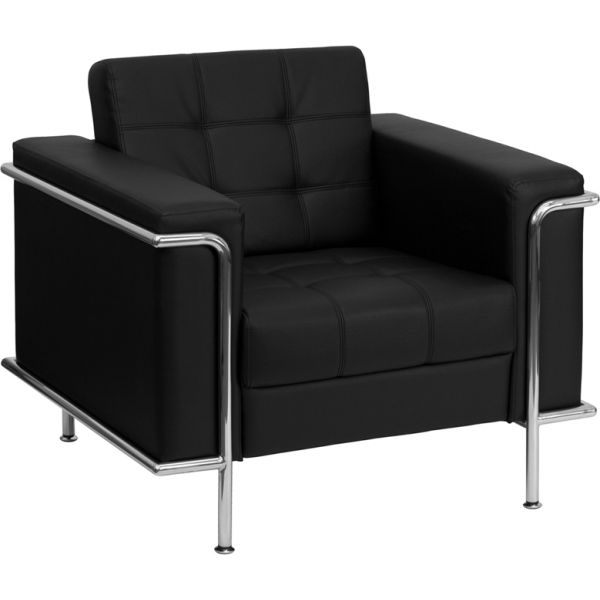Flash Furniture Lesley Series Contemporary Leather Chair