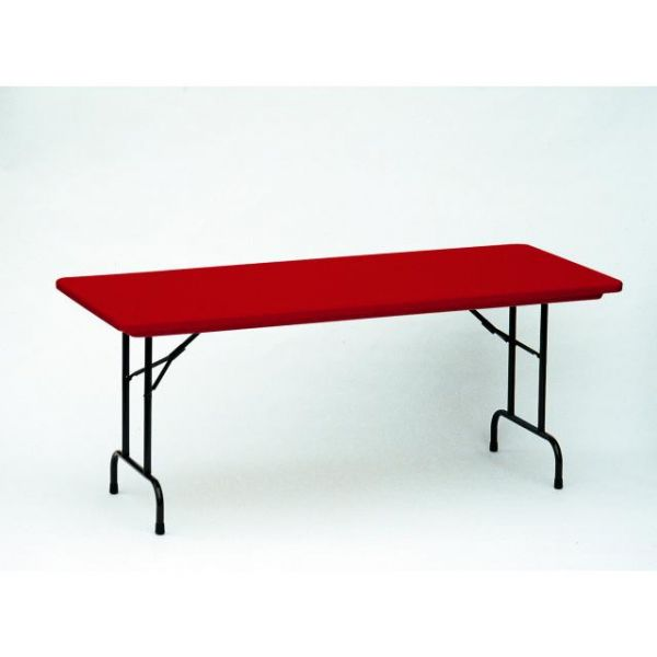 Correll Blow-Molded Rectangular Folding Table