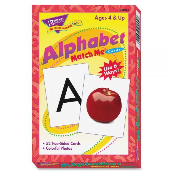 Alphabet Match Me Cards