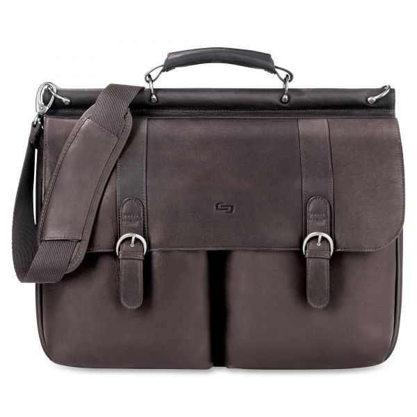 "Solo Classic Carrying Case (Briefcase) for 16"" Notebook - Espresso"