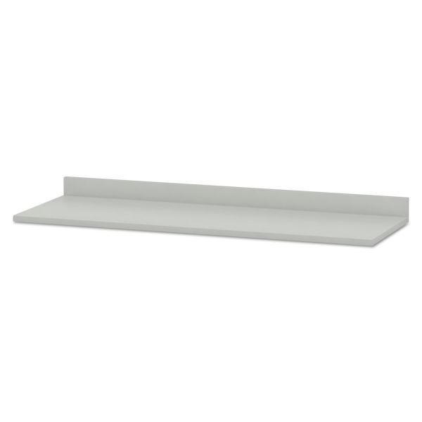 HON Hospitality Cabinet Modular Countertop, 72w x 25d x 4-3/4h, Light Gray